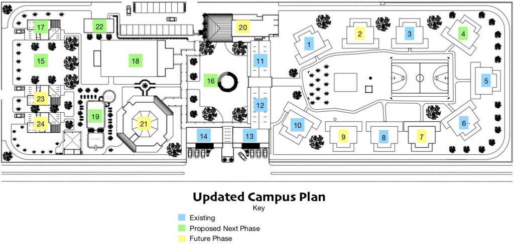 Updated Site Plan 2018