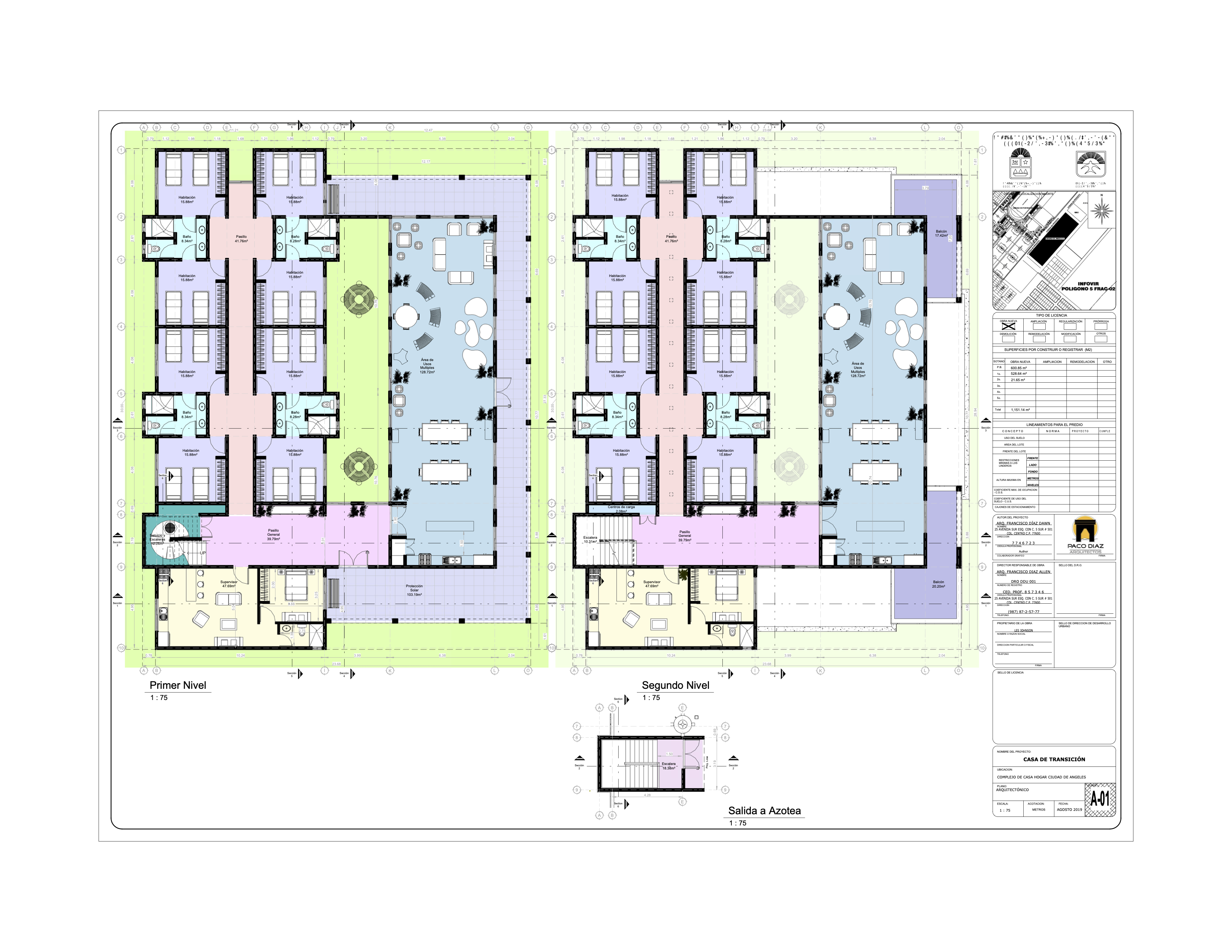 Transition House floor plan